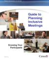 Guide to planning inclusive meetings