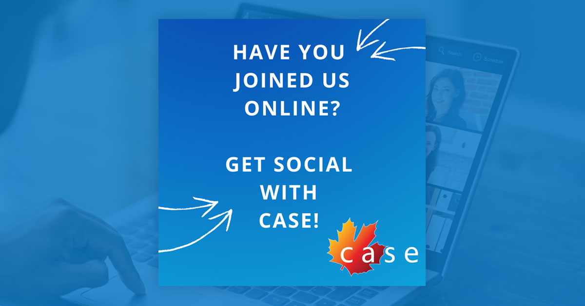 "Featured image for ""Get Social With CASE"""