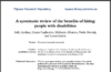 A systematic review of the benefits of hiring people with disabilities